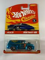 Hot Wheels Classics Series 1 - '56 Ford F-100 - Redline Spectraflame