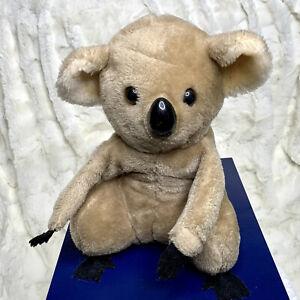 "Vintage 1978 Dakin Plush Koala Bear Stuffed Animal 10"" Attachable Hands"