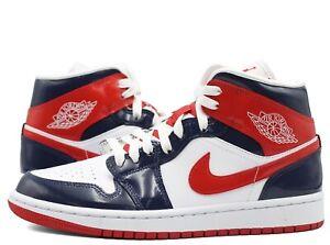 Nike Air Jordan 1 Mid W Champ Colors DJ5984-400 Midnight Navy University Red New