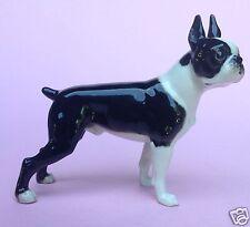 Hutschenreuther Porzellanfigur Hund Bully Dog Boston Terrier 2296 Carl Werner~30