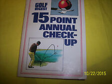 Golf Digest 1983 15 Point Annual Check-Up With Irwin, Snead, Watson, Nicklaus