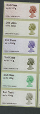 2nd CLASS MAJOR ERROR Post & Go 50th Machin Anniversary  KINGSTON ENQUIRY DO