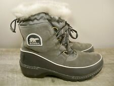 Sorel Tivoli III Women's Winter Snow Waterproof Leather Boots NL2532 Size 8.5