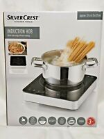 SilverCrest Induction Hob Electric 2000W Portable Digital Touch Screen Sealed