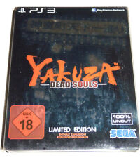 Yakuza: Dead Souls-Limited Steelbook Edition (Playstation 3) ps3 tedesco
