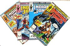 The Further Adventures of Indiana Jones 4 5 6 7 NM 9.2 Marvel 1983 4 Book Lot