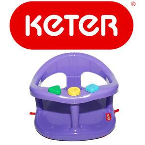 Keter baby bath seat Seatbath Ring bath seat for babies Infant NON TOXIC PLASTIC