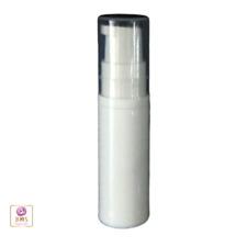 5 Mini Airless Pump Bottles Serum Travel Trial Sample Disposable White 5 ml 3405