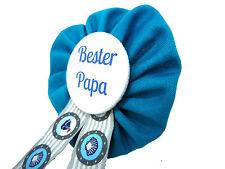 Orden Bester Papa Babyshower Pullerparty Baby pinkeln Babyparty blau türkis Dad