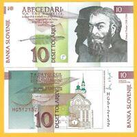 Slovenia P-11 P-12 P-13 Year 1992 Uncirculated Banknotes Set # 4