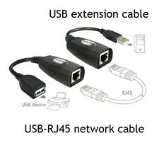 USB UTP Extender Extension Over Single RJ45 Ethernet CAT5e Cable Up to 150FT