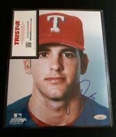 JASON ROMANO Signed Autographed 8X10 Photo COA TRISTAR TEXAS RANGERS