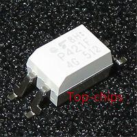 10 pcs TLP421F  Photocoupler GaAs IRed & Photo-Transistor DIP-4 New