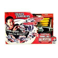 Transformers Starscream Barrel Roll Blaster Dart Gun Play Set - 2007 - UNOPENED