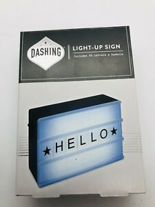 Dashing Fine Gifts Light-Up Sign Includes 84 letters & Symbols!