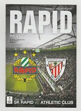 Orig.PRG   Europa League  2016/17   SK RAPID WIEN - ATHLETIC CLUB BILBAO  !!