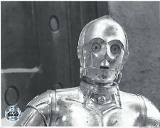 Official Pix C-3PO Anthony Daniels 8x10 unsigned B&W Photo Star Wars ROTJ