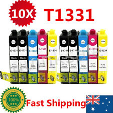 10x T133 T1331-1334 Ink Cartridge For Epson NX 125 130 230 420 430 WF320 325 435