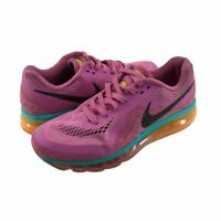 Nike Womens Air Max 2014 Running Shoes Pink Lace Up Breathable 621078 601 8.5