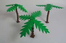 LEGO® Town Classic Stadt 3x Palme + braunen Stamm & große Blätter grün Grünzeug
