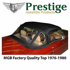 MGB Convertible Top Soft Top Tops 1976-1980 with Zippered Rear Window