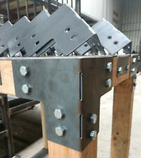 Brackets For 4 x 4 Posts - Heavy Duty Shop Table Pergola - USA Made