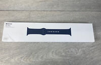Genuine Apple Watch sport band - Midnight Blue - Steel Pin - 38mm - Boxed