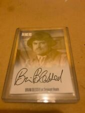 THE COMPLETE AVENGERS SERIES 1 BRIAN BLESSED AVBL1 AUTOGRAPH CARD