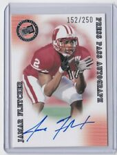 2001 Press Pass Jamar Fletcher auto rookie insert card /250 / Wisconsin