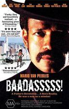 Baadasssss! (DVD, 2005) Region 4 Drama True Story DVD Rated MA Used in VGC