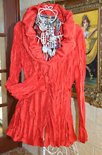 RRP $120 * VERS AUSTRALIA *** NEW with TAGS  CRUSH LOOK STUNNING TOP SZ  10 ***
