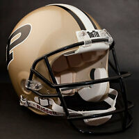 DREW BREES Edition PURDUE BOILERMAKERS Riddell AUTHENTIC Football Helmet NCAA