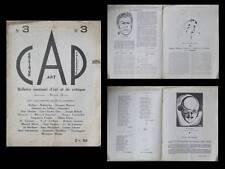 REVUE CAP, CRITIQUE ART PHILOSOPHIE  -LITTERATURE ART- N°3 - 1924 - MARCEL HIVER