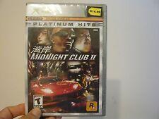 Midnight Club II  (Xbox, 2003)-Factory sealed brand new