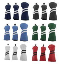 3x Waterproof Wood Head Cover Protector Golf Fairway Driver Headcover Guard Gear