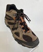 Merrell Men's Yokota 2 Mid Waterproof Boot Size 10.5 Brown Leather Hiking