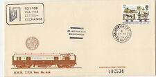 RAILWAY :1980 CALEDONIAN T.P.O. UP/E.R. SECTION.on Didcot Railway Centre cover