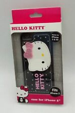 Sanrio Hello Kitty Case for iPhone 5/5S Black with Pink Bling Bow