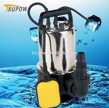 Turpow 1100w Universal sucio/bomba de agua limpia Eléctrico Automático Sumergible