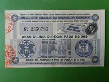 Malaysia Lottery Ticket : Lembaga Loteri Kebajikan & Perkhidmatan Masharakat :#2