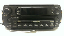 Original Chrysler Dodge Jeep Ram1500 Wrangler Radio AM-FM CD Player P05091507AF