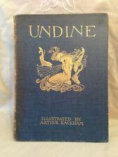 Arthur Rackham / De La Motte Fouque - 1st/1st 1909, 15 Full page coloured plates