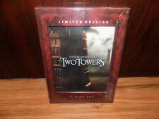 The Lord of the Rings: The Two Towers Limited Edition (Dvd 2-Disc Set) New