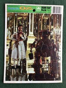 Return to Oz Frame-Tray Puzzle Golden FAIRUZA BALK Dorothy & Tick Tock wizard