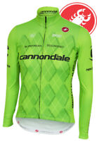 Cannondale Men's Long Sleeve Cycling Jersey by Castelli All Sizes