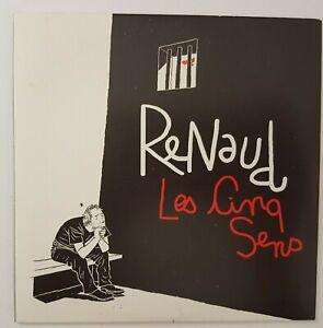 RENAUD  ♦ CD PROMO ♦ LES CINQ SENS