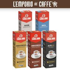 100 Capsule Caffe Caffitaly System Smart; Crem e Gran espresso,Elite,Silver,Deca