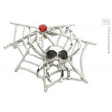 Spiderweb & araignée broche Halloween Costume Robe fantaisie prop Démon Sorcière