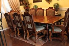 Theodore Alexander Castle Bromwich A Mellow Classic Dining Table with 8 chairs