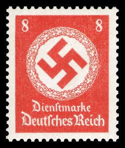 Germany Deutsches Reich 1942/44 Mi. Nr. 170 8 Rpf. Govt. Officials Dienst MNH